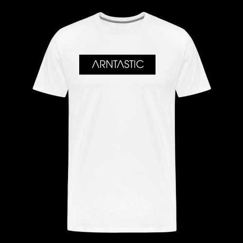 ARNTASTIC balken schwarz - Männer Premium T-Shirt