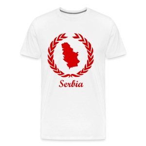 Connect ExYu Serbia Red Editon - Männer Premium T-Shirt