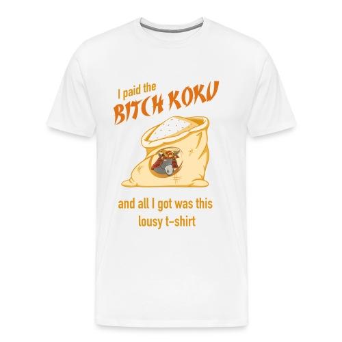 BITCH COOK T-SHIRTS - Men's Premium T-Shirt
