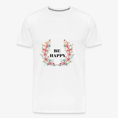 Blumen1 - Männer Premium T-Shirt