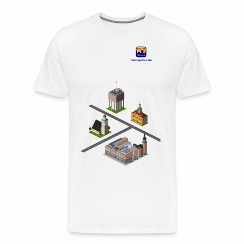 Raumagame mix for white / bale bg - Men's Premium T-Shirt