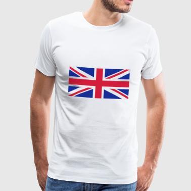 Bandiera Nazionale Del Regno Unito - Maglietta Premium da uomo