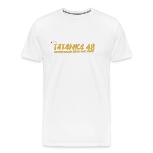 LOGO ORO - Maglietta Premium da uomo