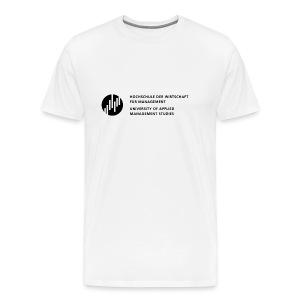 Logo_SW - Männer Premium T-Shirt