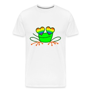 Pride Frog in Love - Men's Premium T-Shirt