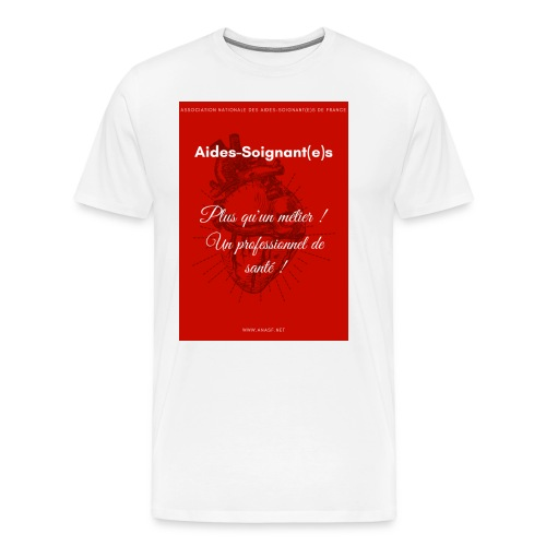 Association Nationale des aides soignant e s de fr - T-shirt Premium Homme