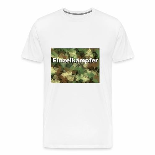 Bist du auf die alleine gestellt? - Männer Premium T-Shirt