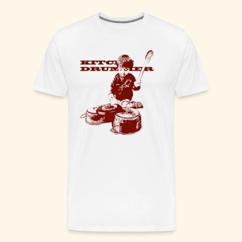 kitchen drummer - Maglietta Premium da uomo