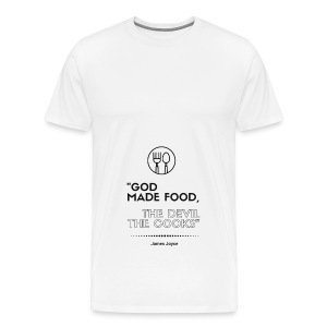 James Joyce Collection: Apron - Men's Premium T-Shirt