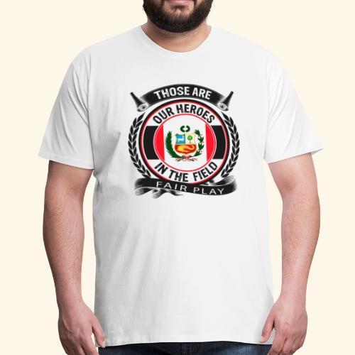Peru 🇵🇪 - Männer Premium T-Shirt