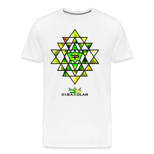 Lemon Yantra - Männer Premium T-Shirt