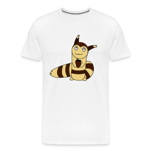 Wiesel in Farbe - Männer Premium T-Shirt