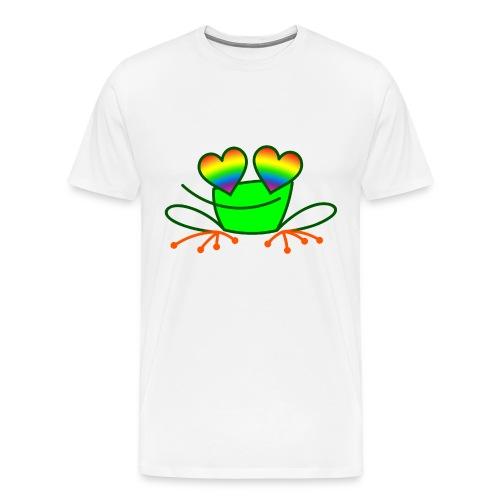 Pride Frog in Love - Men's Premium T-Shirt