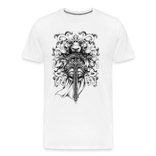 Knight and Armor - Men's Premium T-Shirt