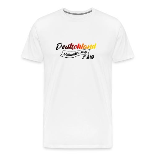 Deutschland Weltmeisterschaft 2018 - Männer Premium T-Shirt