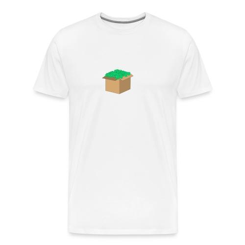 Geld Karton - Männer Premium T-Shirt