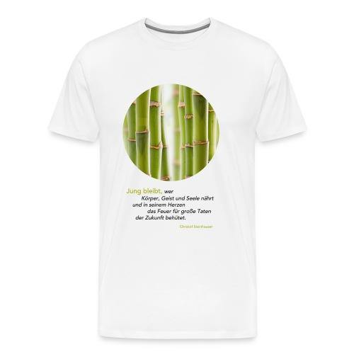 Steinhauser Das Geheimnis der Junggebliebenen - Männer Premium T-Shirt