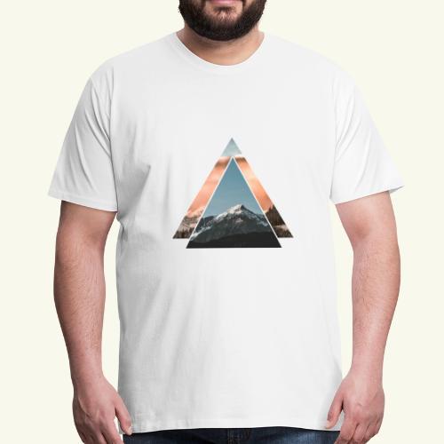 Berg Love - Bergsteigen, Mountainbiken & Wandern - Männer Premium T-Shirt