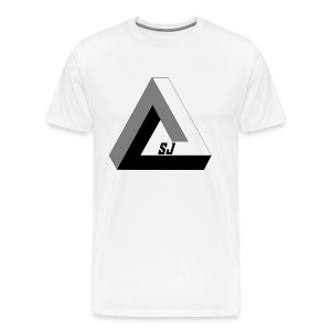 SJ Unlimited triangle - Premium T-skjorte for menn