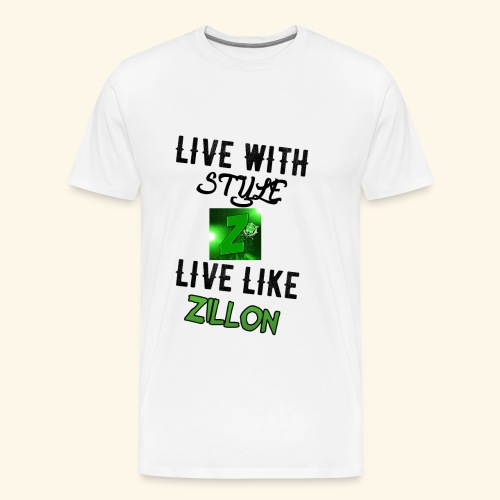 LWS LlZ - Camiseta premium hombre