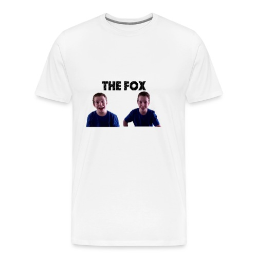 THE FOX - Deluxe Damesshirt - Mannen Premium T-shirt