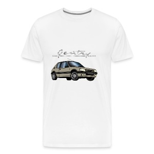205 GTI 1,9 92 93 Gentry Gris Mayfair - T-shirt Premium Homme