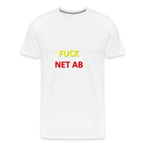 FUCK NET AB - Männer Premium T-Shirt