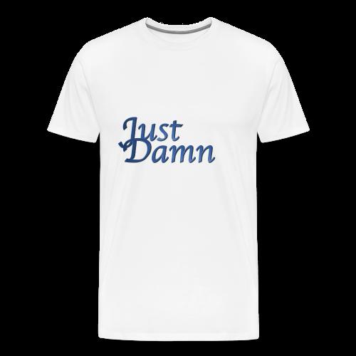 JustDamn - Männer Premium T-Shirt