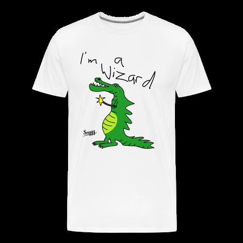 Lizard Wizard - Männer Premium T-Shirt