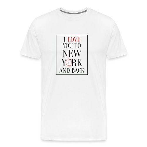 Love New York - Männer Premium T-Shirt