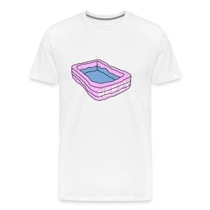 zwembad - Mannen Premium T-shirt