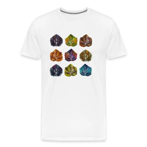 Autumn Leave Nine - Männer Premium T-Shirt