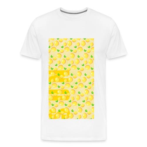 Zitronen mit SUN - Männer Premium T-Shirt