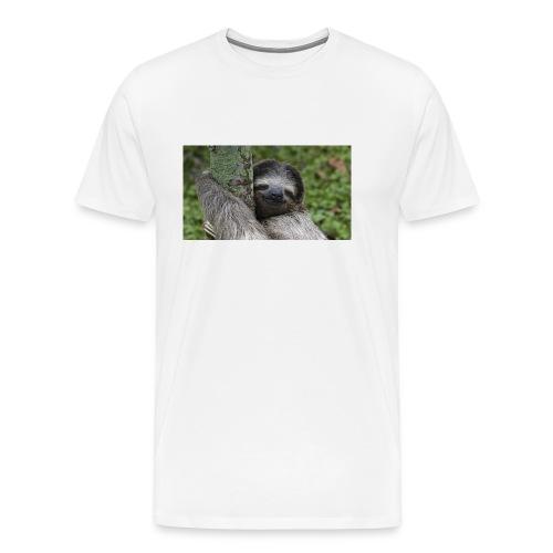 Luiaard - Mannen Premium T-shirt