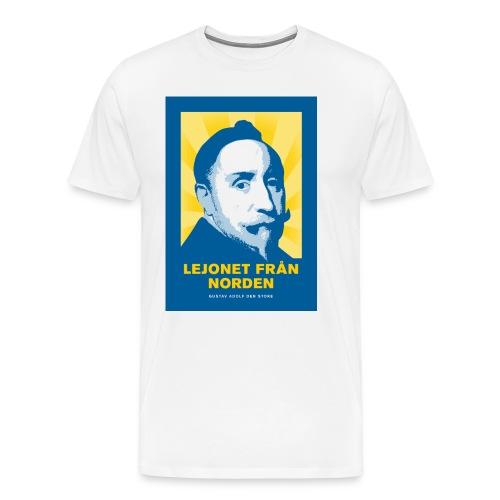 Lejonet från Norden - Premium-T-shirt herr
