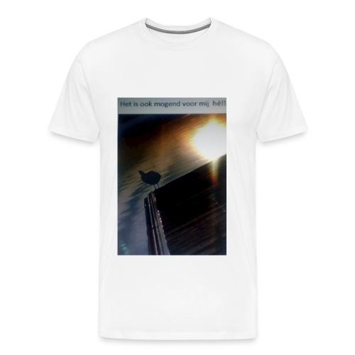 'tis morgend voor iedereen - Mannen Premium T-shirt