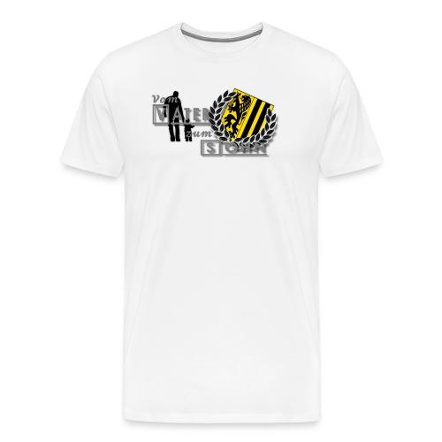 vater und sohn - Männer Premium T-Shirt