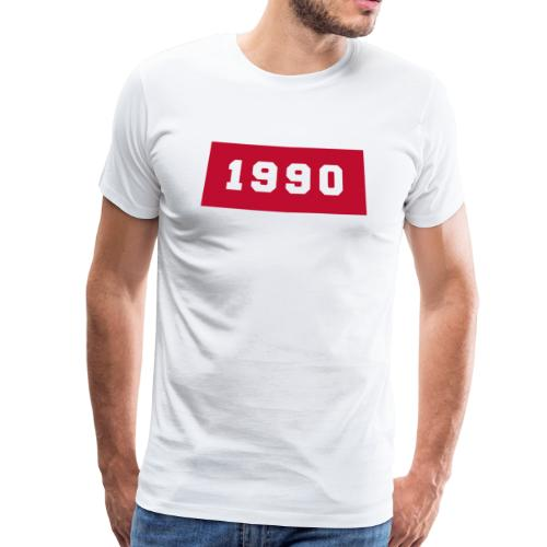 IF YOU WERE BORN IN 1990 T-shirt Red - Camiseta premium hombre