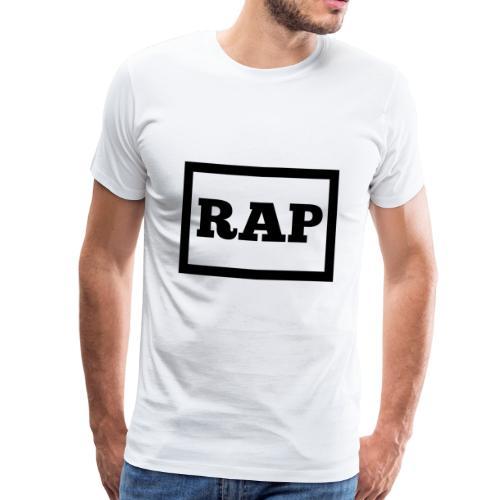 Hip-hopowy rap z lat 90 - Koszulka męska Premium