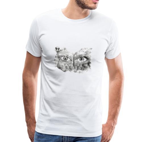 Die sehende Hand durch Augen - Männer Premium T-Shirt