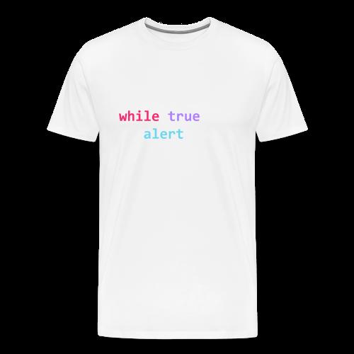 whilte(true) tee - Men's Premium T-Shirt