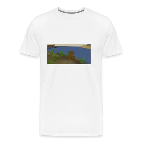 Fishing spot - Mannen Premium T-shirt