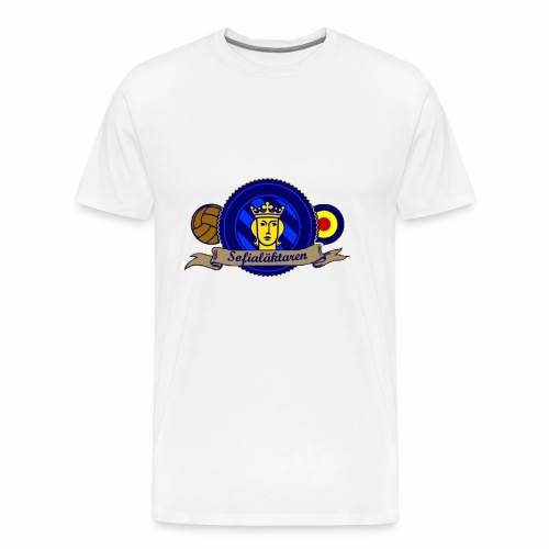 sofialäktaren logo - Premium-T-shirt herr