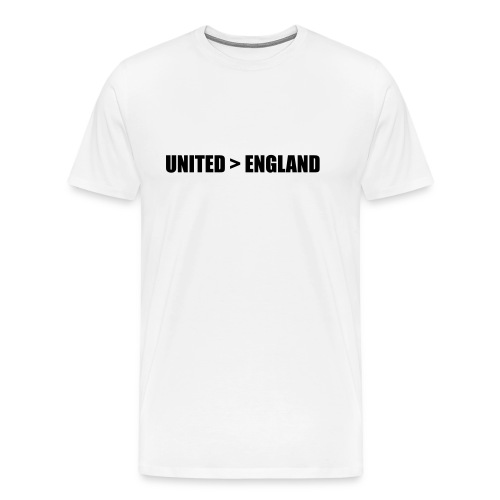 United > England - Men's Premium T-Shirt