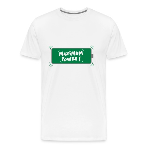 POWER MAX - T-shirt Premium Homme