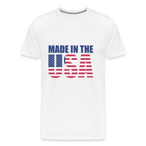 Made in the USA - T-shirt Premium Homme