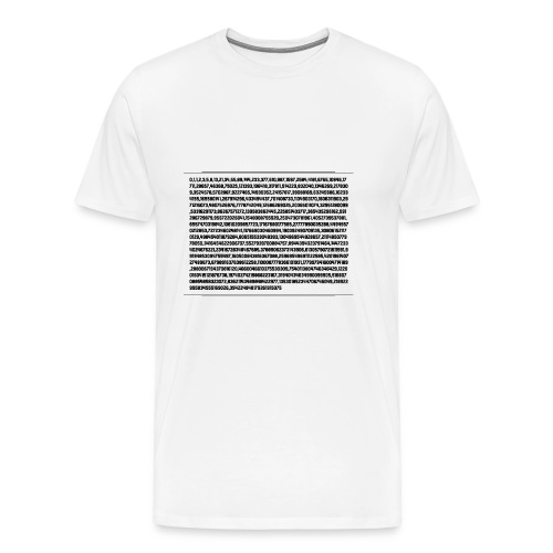 Fibonacci Shirt - Men's Premium T-Shirt