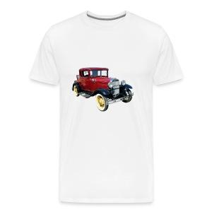 Car - Premium T-skjorte for menn