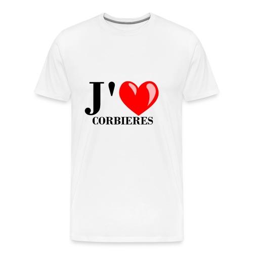 Corbie res - T-shirt Premium Homme