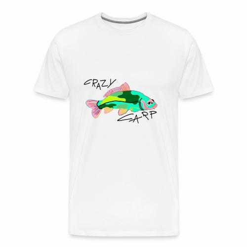 Karpfen Carp Angeln Fischen Fisch - Männer Premium T-Shirt
